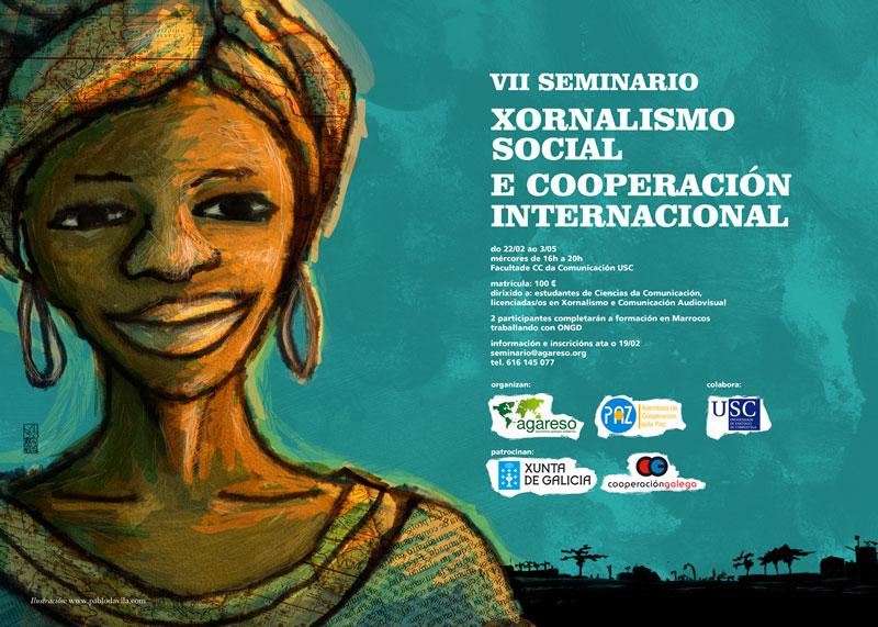 Ábrese a inscrición no VII Seminario 'Xornalismo social e cooperación internacional' de ACPP e Agareso