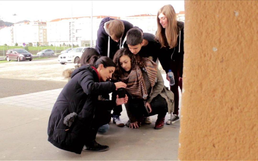 As competencias mediáticas nas escolas, unha reportaxe de Pablo Santiago