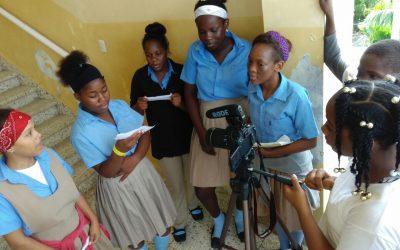 Estudantes dos bateyes dominicanos fan videoclip e curtas contra o machismo