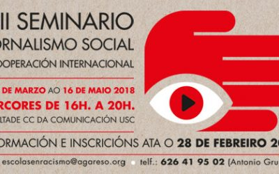 Abrimos o prazo de inscrición para o VIII Seminario de Xornalismo Social e Cooperación Internacional