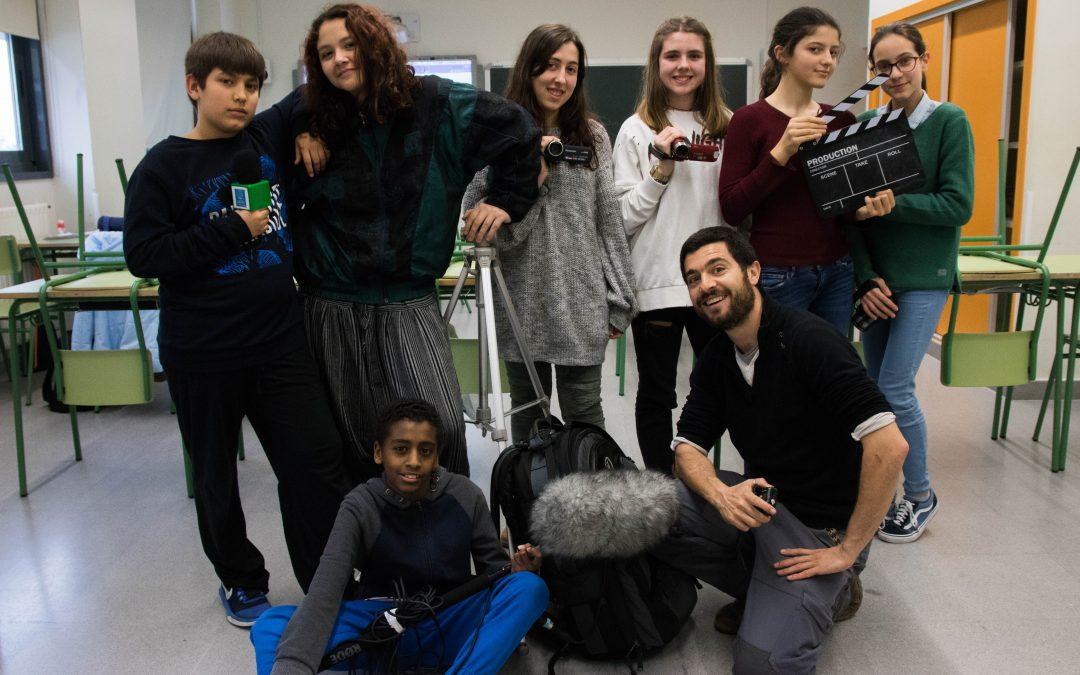 Escuelas sin Racismo termina su taller de vídeo documental en Milladoiro