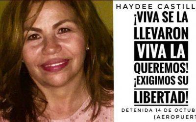 Haydee Castillo, unha referente detida arbitrariamente en Nicaragua