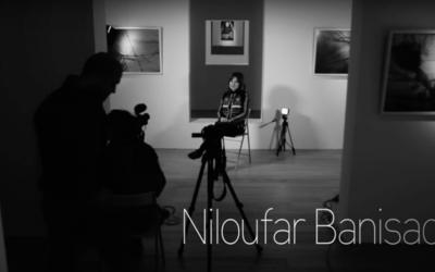 Niloufar Banisadr, referente del arte iraní con nombre de mujer