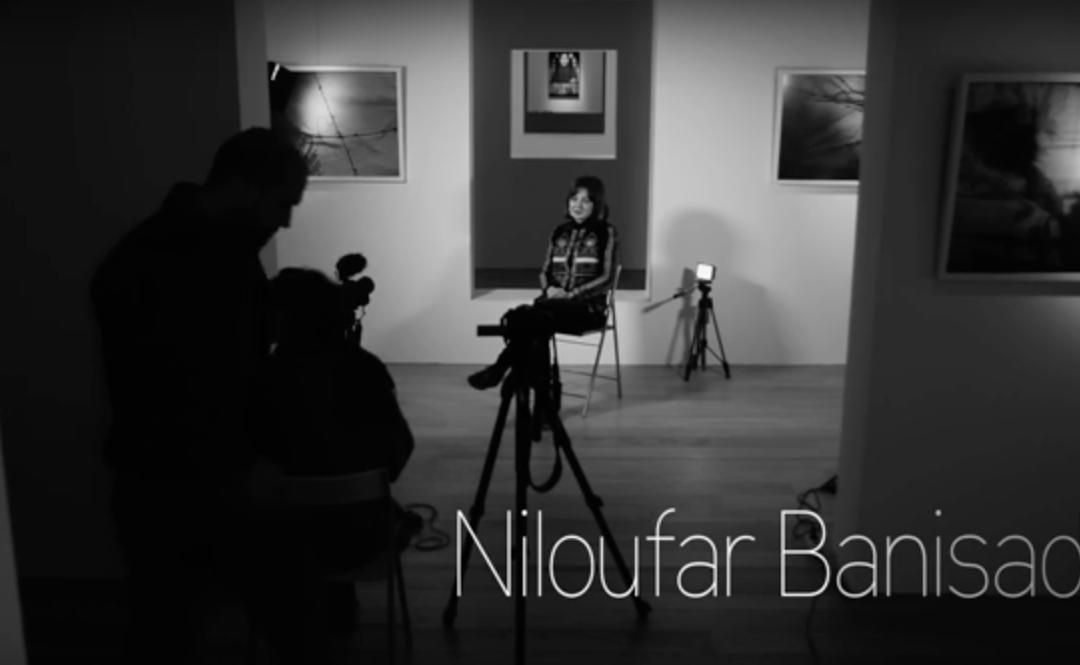 Niloufar Banisadr, referente da arte iraniana con nome de muller