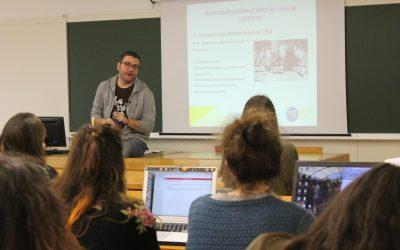 Nos acercamos a la Cooperación Internacional y la Acción Humanitaria, e el IX Seminario de Comunicación Social