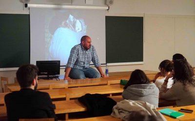 A guerra cala fondo nos alumnos e alumnas do IX Seminario de Comunicación Social e Cooperación Internacional