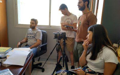 Alumnado do IX Seminario de Comunicación Social e Cooperación Internacional comezan a súa formación práctica en Marrocos
