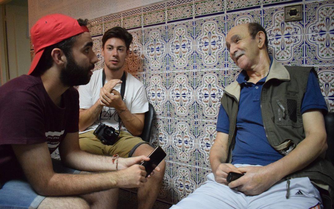 Os protagonistas non fumos nós. Unha crónica da viaxe a Marrocos co Seminario de ESR