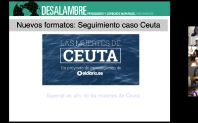 """Gabriela Sánchez: """"La visión social debe estar presente en todas los rincones de una redacción, no puede ser solamente una sección concreta"""""""