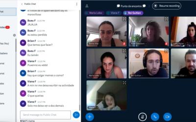 Estudiantado de toda Galicia participan en un hackaton on line sobre el impacto de la Covid-19 en países empobrecidos