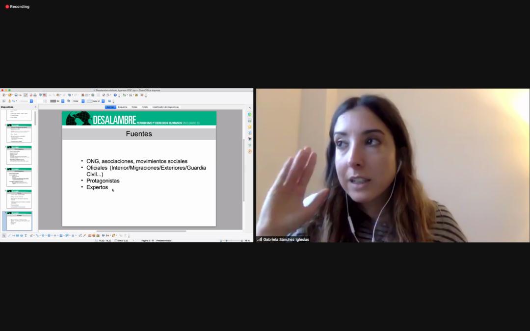 """Gabriela Sánchez: """"É importante tratar aos protagonistas das nosas noticias como suxeitos de dereito, non estigmatizalos como vítimas"""""""