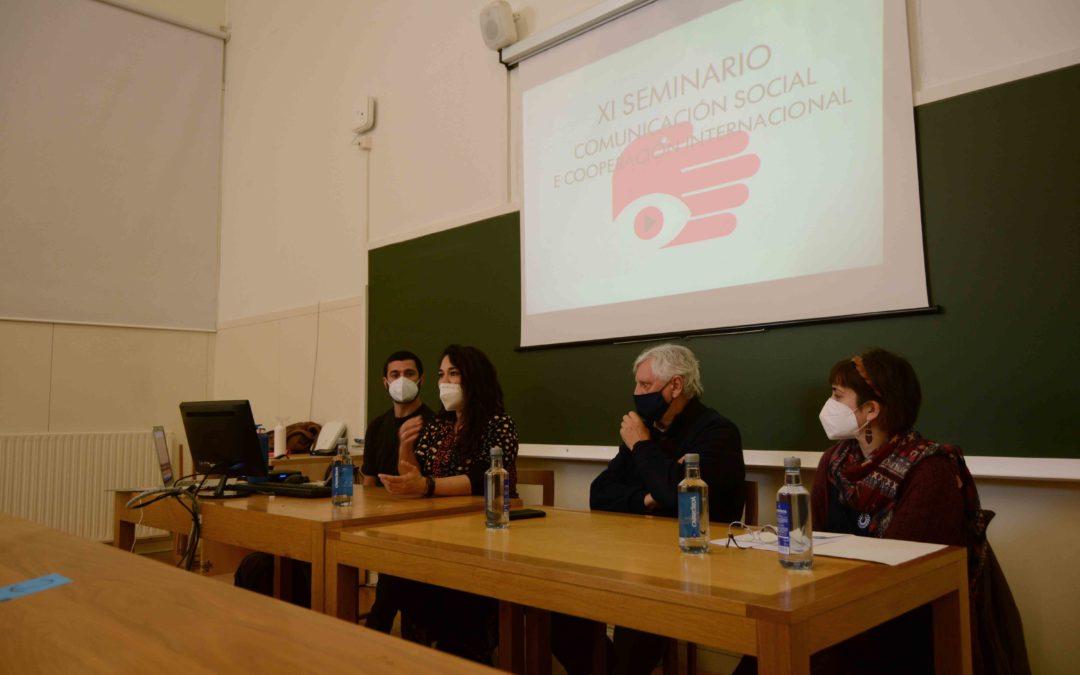 Arranca el XI Seminario de Comunicación y Cooperación Internacional en modalidad presencial y online.