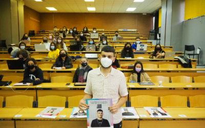 A Tribo presenta as súas curtas e a súa campaña de sensibilización na FCSC de Pontevedra